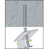 Taco clavo expansor para techo MDA
