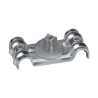 Grapa doble metálica para clavadora a gas  DFT