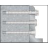 Anclaje tornillo directo Ø8/Ø10/Ø14 a hormigón  BTS-ST