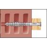 Blister taco largo para mampostería HBR