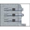 Anclaje altas cargas cabeza con avellanada SLAC